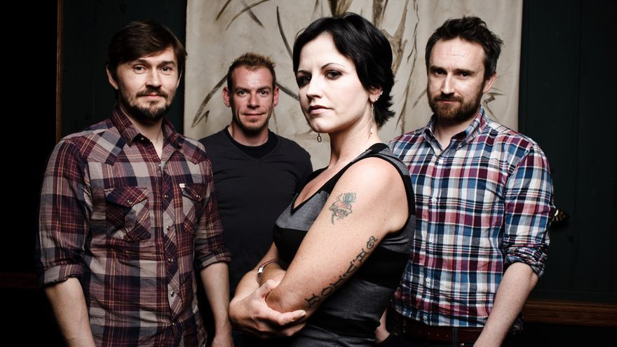La banda de rock irlandesa The Cranberries