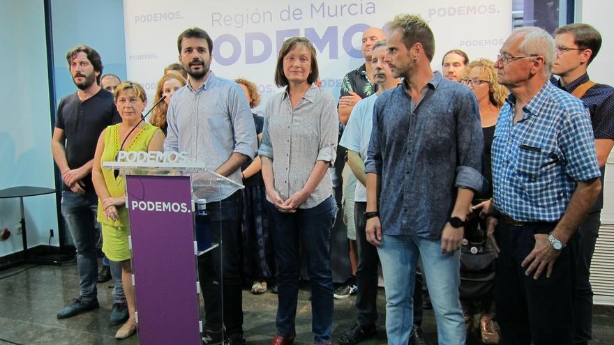 Portavoz de la gestora dice que el proyecto de Podemos seguirá adelante en Murcia y arremete contra Urralburu