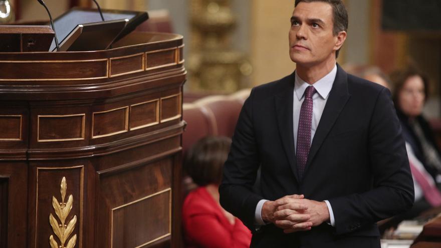 Sánchez se enfrenta a la votación definitiva de su investidura con solo dos votos de margen