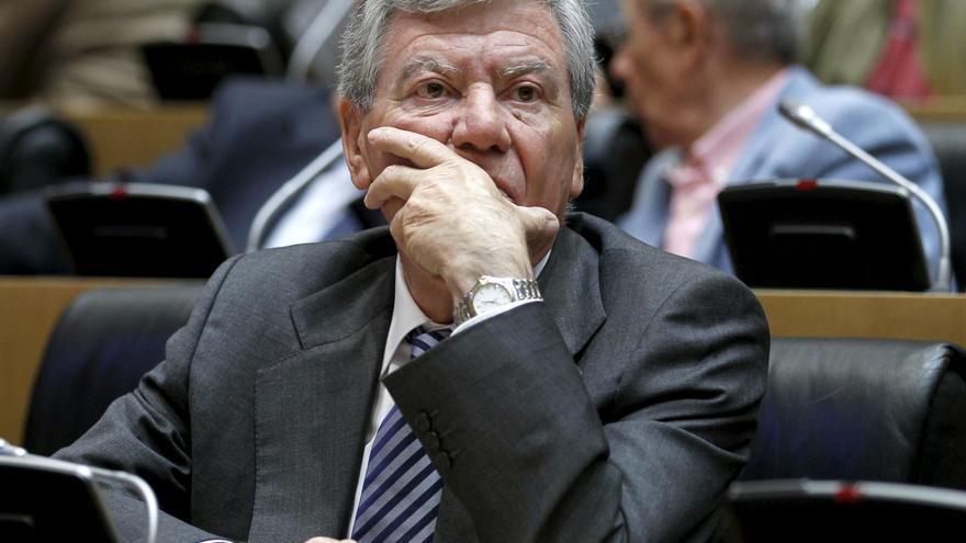 El exministro del Interior socialista José Luis Corcuera en una imagen de archivo / Foto: EFE