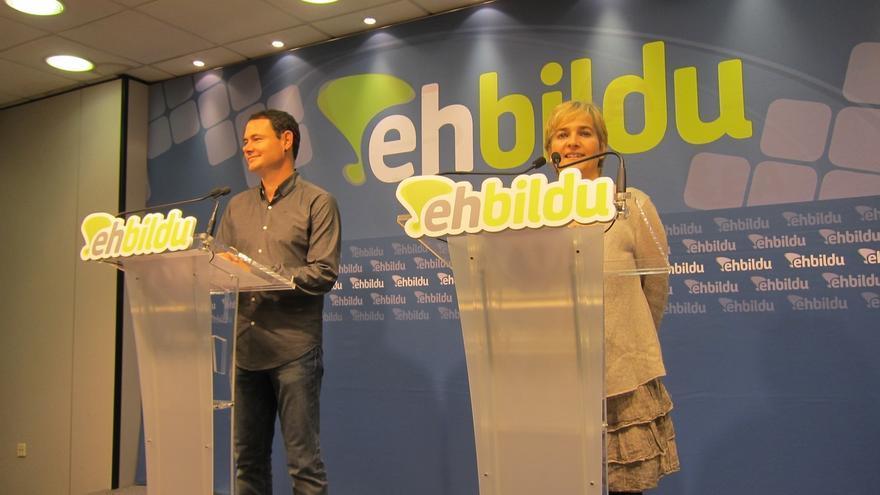 EH Bildu pide que el Parlamento vasco avale el proceso catalán e inste al Estado a negociar la 'desconexión'