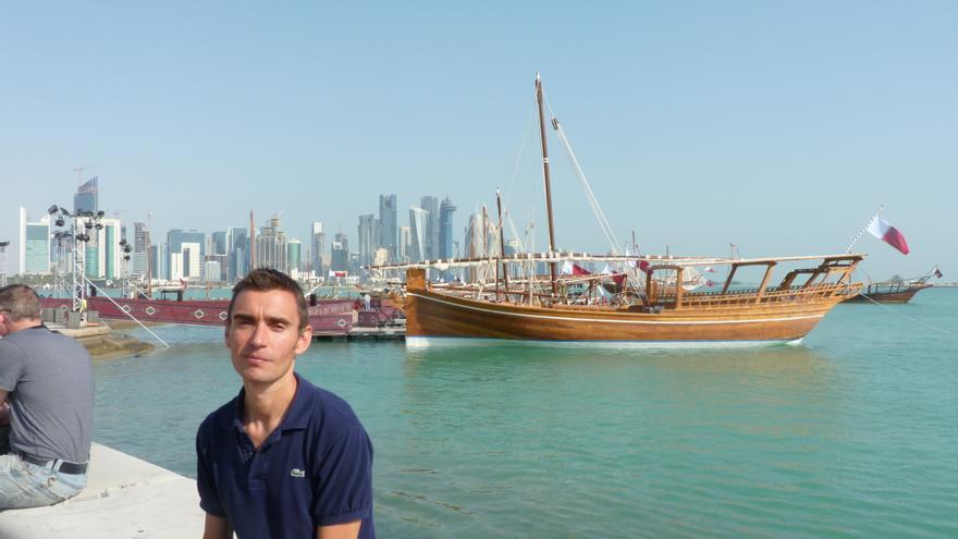 Víctor Miguel Gómez, cántabro viviendo en Qatar