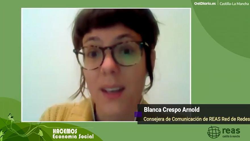 Blanca Crespo Arnold, consejera de Comunicación de REAS