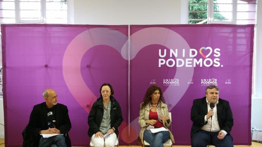 El cántabro Jesús Montero (Podemos Madrid) dice que el cambio pasa por dos diputados y un senador