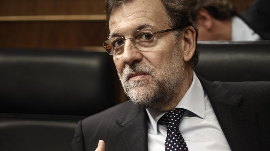 """Rajoy da su """"pleno y total"""" apoyo a Wert y atribuye a un """"malentendido"""" la polémica con la Comisión Europea"""