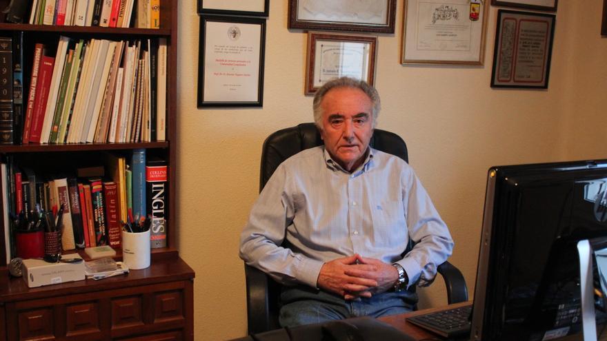 Antonio Vaquero, catedrático emérito de la Universidad Complutense (Foto: Cristina Sánchez)