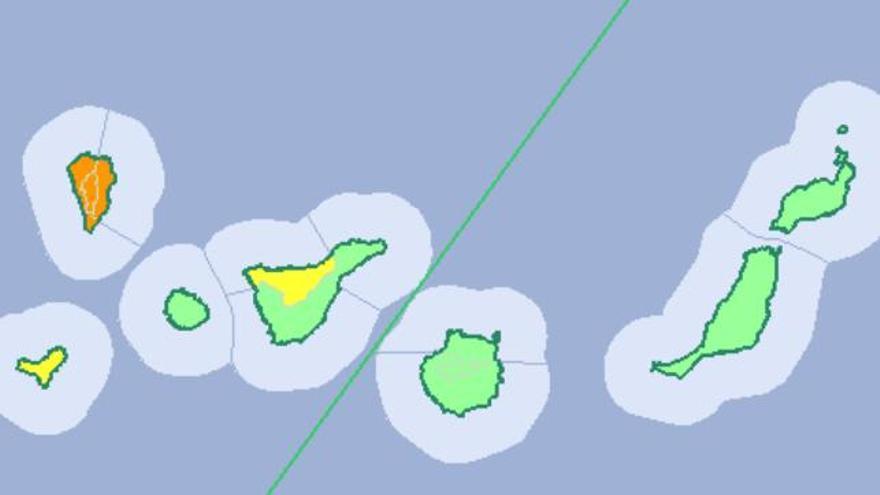 Avisos en Canarias