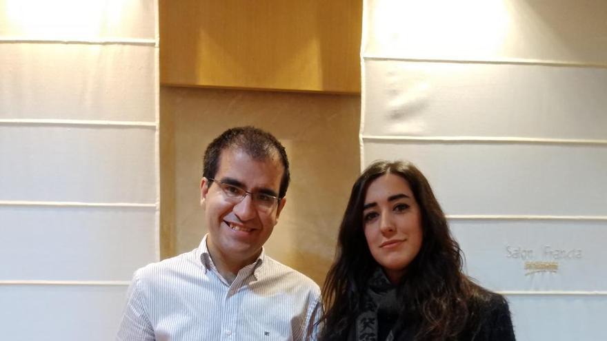 Javier Gómez y Gabriela Sanvicente