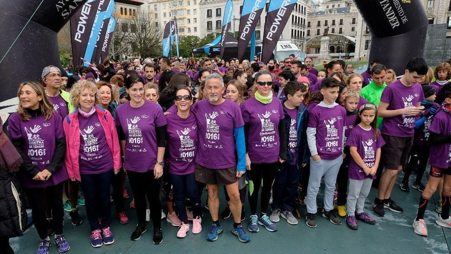 La II Marcha contra la Violencia de Género recauda más de 2.200 euros