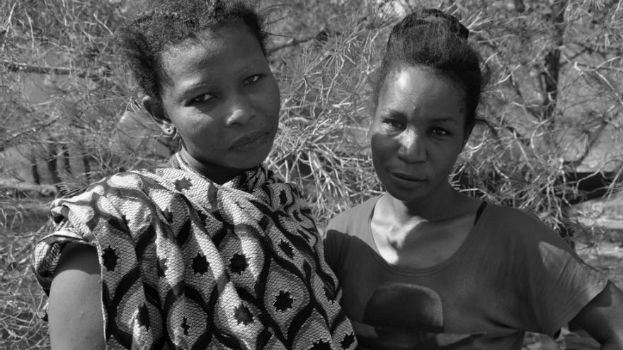 La mayoría de las emigrantes que llegan a Marruecos sufren abusos y no logran nunca llegar a Europa./ Fotografía: J. Blasco de Avellaneda