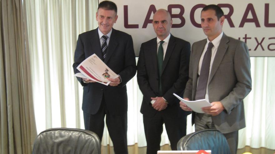 Caja Laboral prevé que la economía Navarra crezca un 2,9 por ciento en 2016
