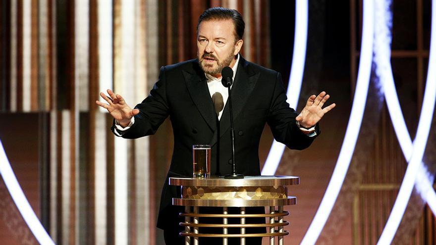 Joe Pesci, Scorsese y DiCaprio: las víctimas de los mejores dardos de Ricky Gervais en los Globos de Oro 2020