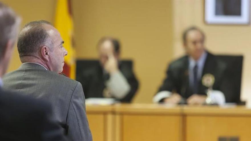 Miguel Zerolo, durante su declaración ante el tribunal