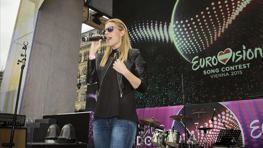 """Música y diversión para los """"eurofans"""" en el Eurovisión Village de Viena"""