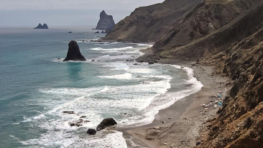 Playa de Benijo, en el Parque Natural de Anaga.
