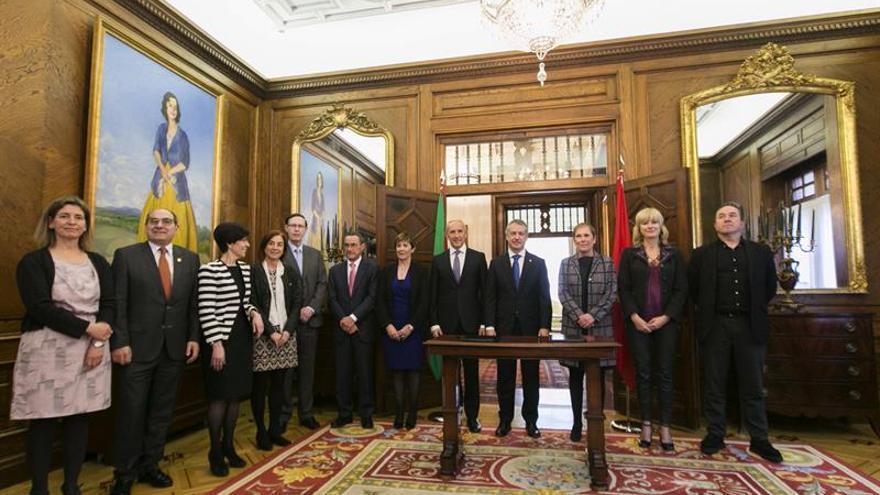 Urkullu y Barkos comparten alianza en favor de la bilateralidad con el Estado