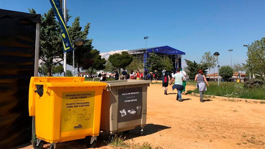 En 2018 Ecoembes consiguió recuperar más de 375 toneladas de envases procedentes de 50 festivales de música.