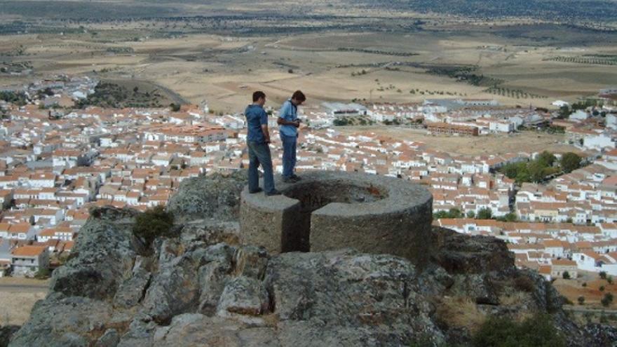 Punto de vigilancia y defensa republicana en Castuera / Ángel Olmedo (Asociación para la Recuperación de la Memoria Histórica de Extremadura)