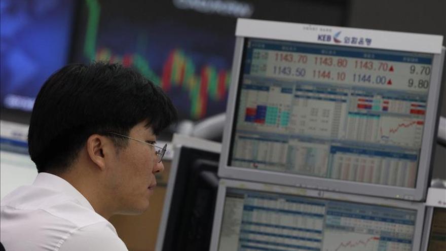 El Kospi surcoreano sube un 0,14 por ciento hasta los 1.993,27 puntos