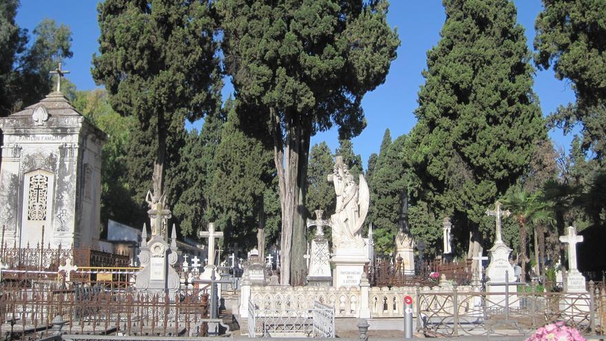 Vista general del Cementerio de La Salud, en Córdoba.