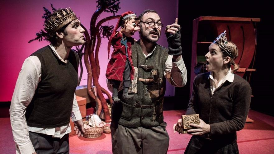 Teatro Campos Elíseos de Bilbao acoge este sábado y domingo la adaptación para el público familiar de 'El cascanueces'