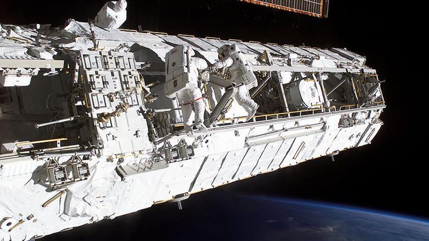 Miralles ha reconstruido en 3D la Estación Espacial Internacional (ISS)