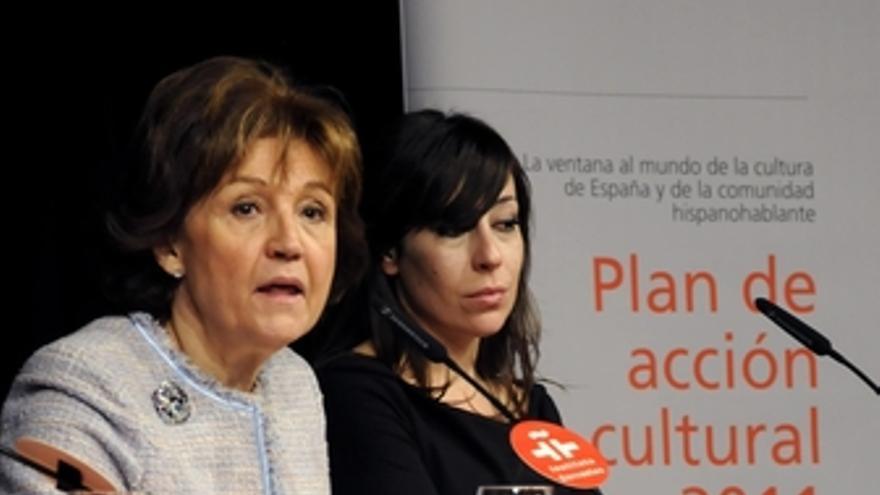La directora del Instituto Cervantes, Carmen Caffarel