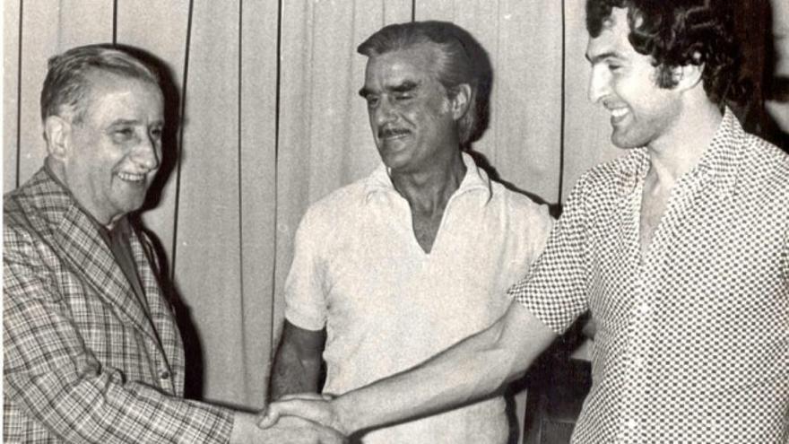 45 años del fichaje de Morete por la UD Las Palmas