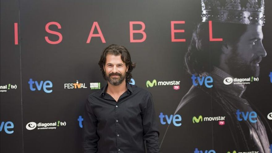 """Rodolfo Sancho afirma que """"Fernando se ha hecho más maquiavélico y astuto en 'Isabel'"""""""