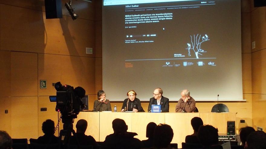 Diputación de Gipuzkoa y Mikel Laboa Katedra de la UPV/EHU ponen en marcha una nueva web dedicada al músico donostiarra
