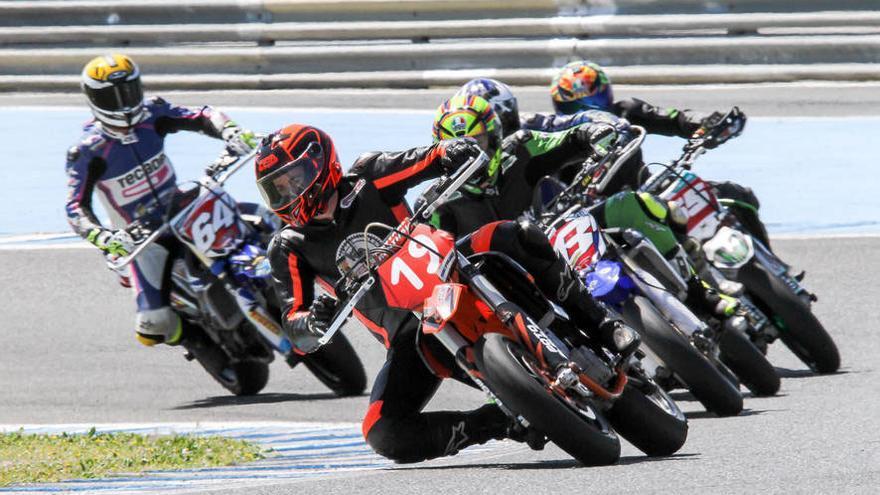 Fin de semana de carreras de motos en el circuito de Jerez