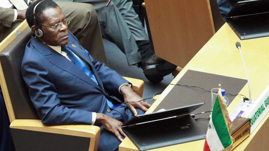 Dos partidos de oposición no asisten a la investidura de Obiang en Malabo