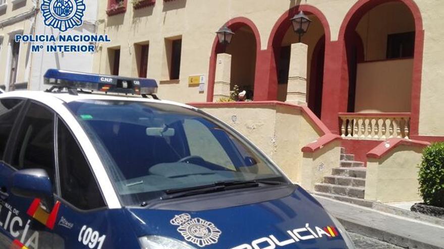 Comisaría de la Policía Nacional de Santa Cruz de La Palma.