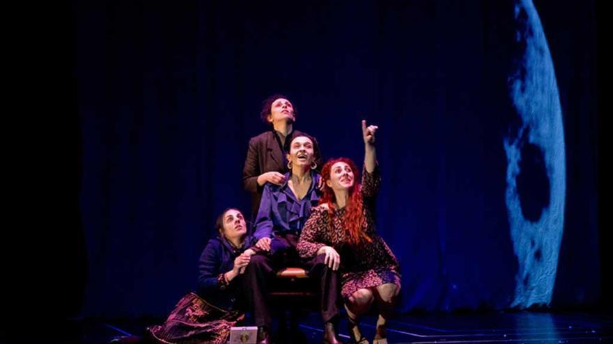 Una escena de 'Bernarda Alba' / Delirium Teatro