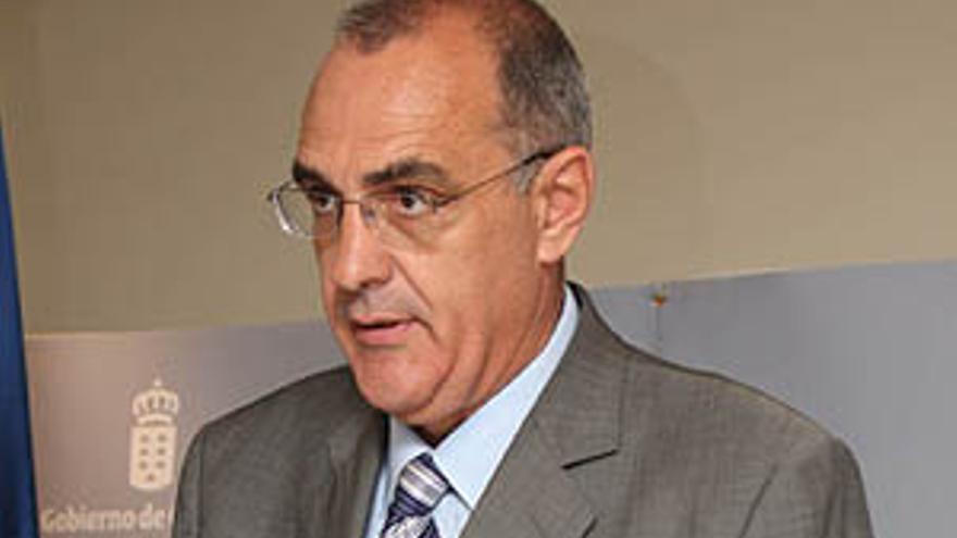 El director general del Servicio Canario de Empleo, Alberto Génova Galván.