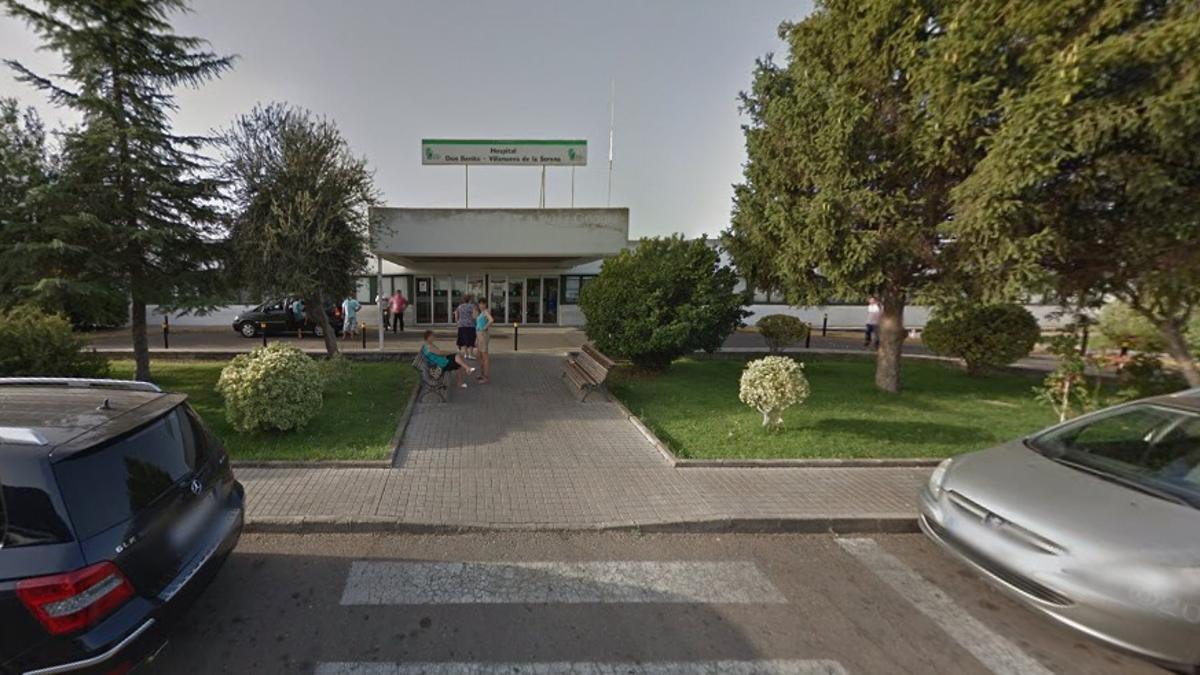 Entrada principal al Hospital Don Benito-Villanueva