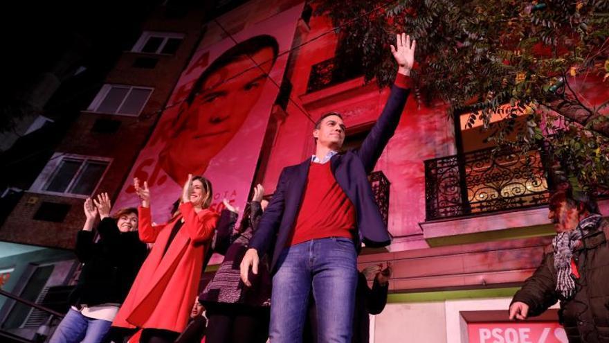 Sánchez: Esta vez sí o sí vamos a conseguir un gobierno progresista