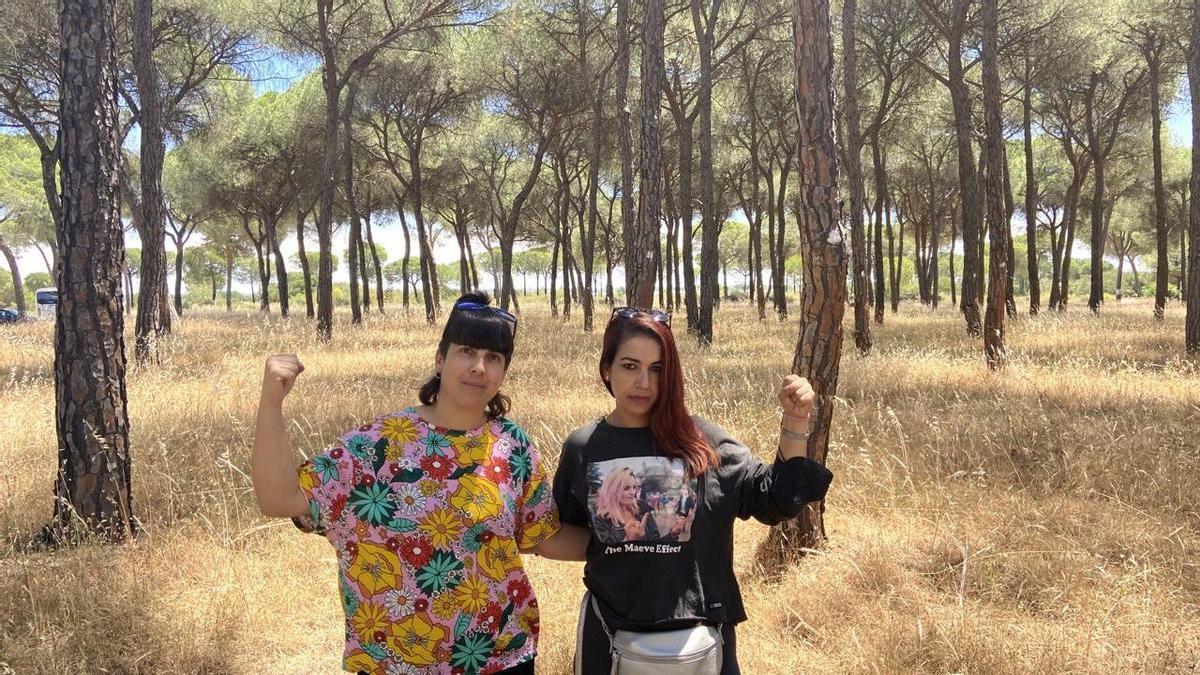 Ana Pinto y Najat Bassit, dos almas de la organización Jornaleras de Huelva en Lucha