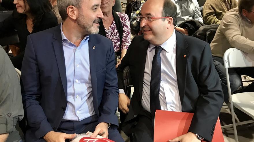 """Collboni erige al PSC como """"el único partido de izquierdas no independentista"""""""