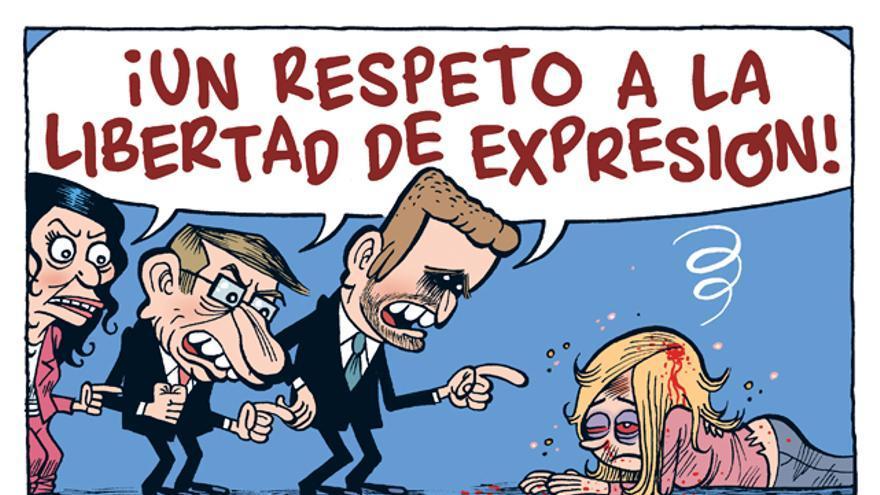 ¡Un respeto a la libertad de expresión!