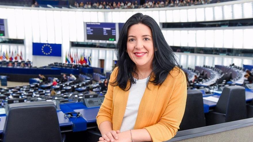 Archivo - Idoia Villanueva, europarlamentaria navarra de Podemos