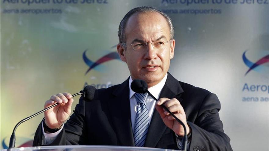 El Congreso mexicano autoriza a Calderón para recibir condecoración española