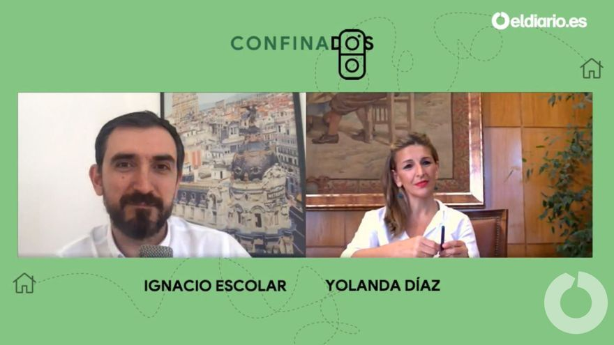 Ignacio Escolar entrevista a Yolanda Díaz, ministra de Trabajo.