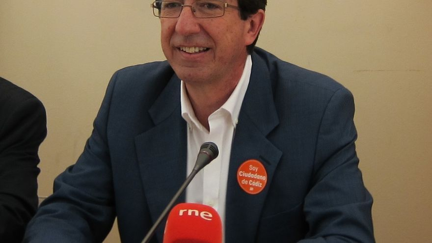 """Marín (C's) volverá a votar no si no hay """"diálogo y negociación"""" y afea al PSOE-A que hable de """"boicot"""""""