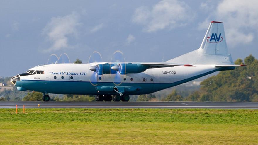 Imagen de un Antonov, el aparato que sobrevuela Córdoba de madrugada