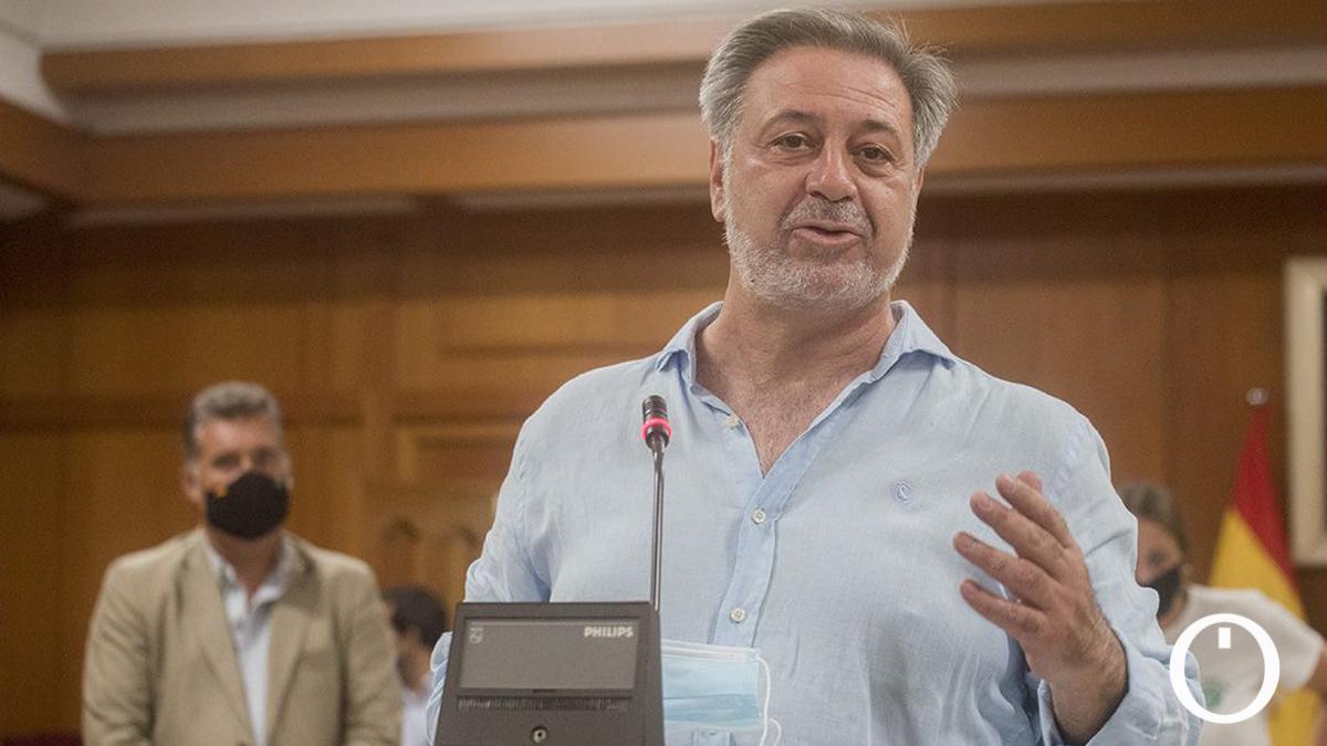 Paco Castillo, en una comparecencia institucional.