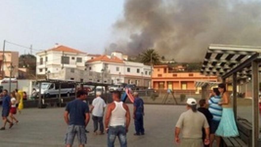 'LaGomeraSeMueve' abrirá la via legal por el incendio