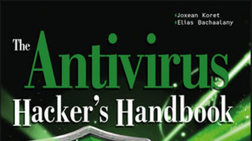 Portada del libro 'The Antivirus Hacker's Handbook'