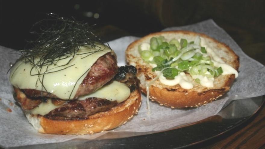 Una de las hamburguesas que sirven los emprendedores andaluces en sus restaurantes.