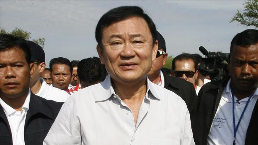 Tailandia cancela los pasaportes del ex primer ministro Thaksin Shinawatra
